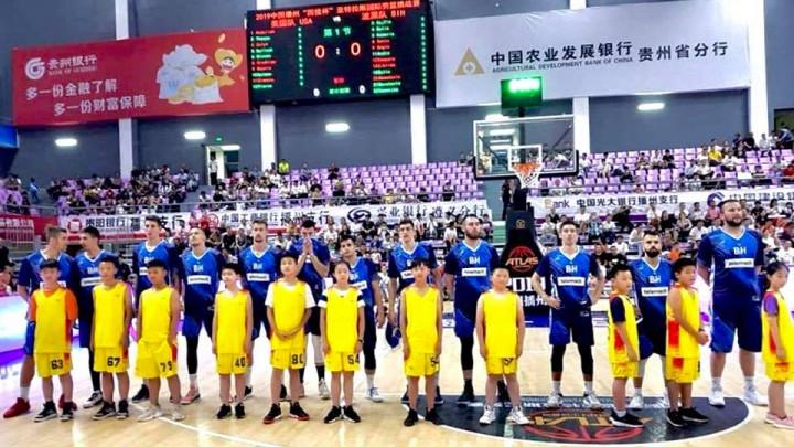 Košarkaška reprezentacija BiH stigla i do treće pobjede na turniru u Kini
