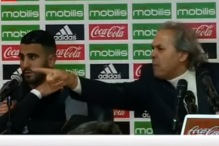 Mahrez u čudu gledao kako selektor 'divlja' na pressici