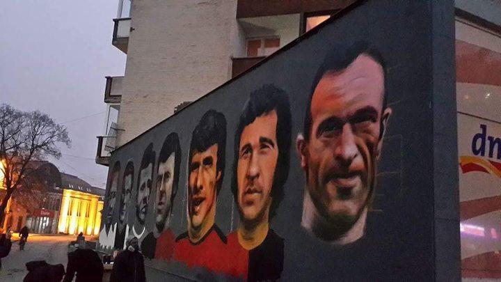 U centru Zenice murali za sedam legendi Čelika