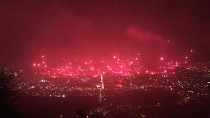 "Ultrasi ""zapalili"" Mostar"