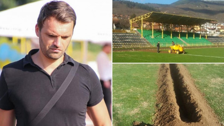 """Pauza je, a FK Goražde već počinje sa poslom: """"Imat ćemo jedan od najboljih terena u BiH!"""""""