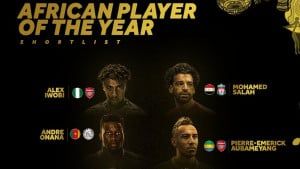 Objavljena imena desetorice kandidata za afričkog fudbalera godine