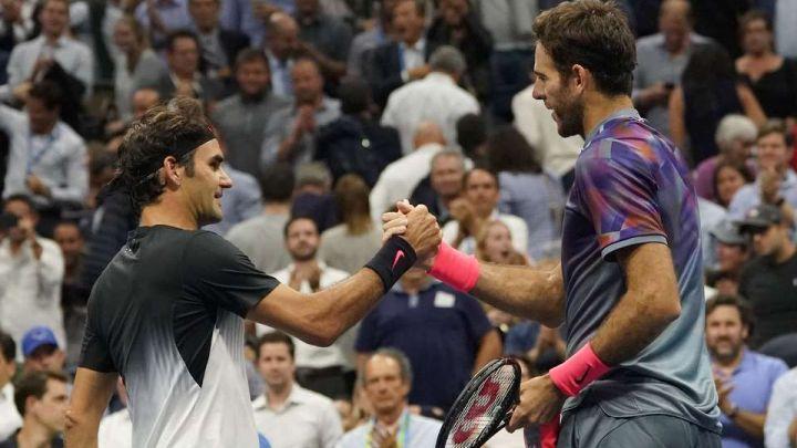 Federer: Del Potro je zasluženo slavio