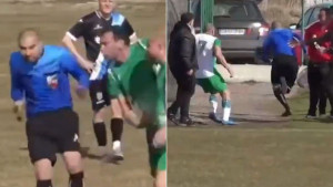 Trčao je koliko ga noge nose: Sudija spašavao živu glavu od bijesnih fudbalera