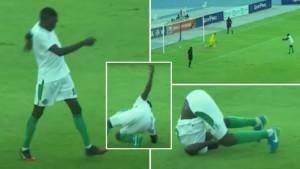 Prije dvije godine Everton gostovao u Keniji, a domaći igrači napravili šou od penala