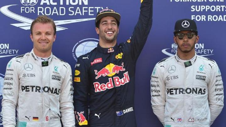 Rosberg: Ricciardo me zaista iznenadio