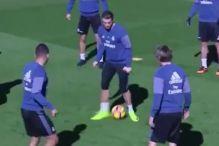 Casemiro se poigrao s Ronaldom na treningu