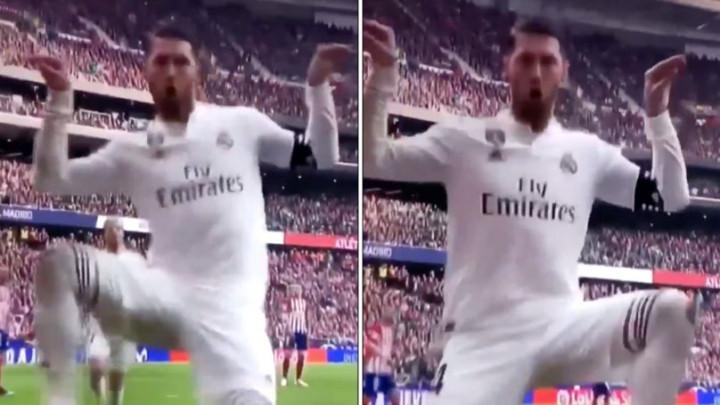 Sergio Ramos proslavom gola ismijavao Griezmanna