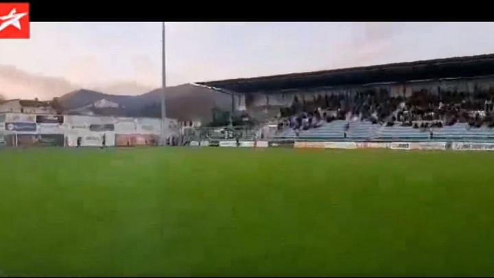 Veliko slavlje na Pecari nakon gola Širokog