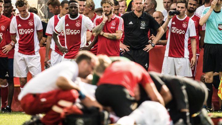Mladi fudbaler Ajaxa u stabilnom stanju
