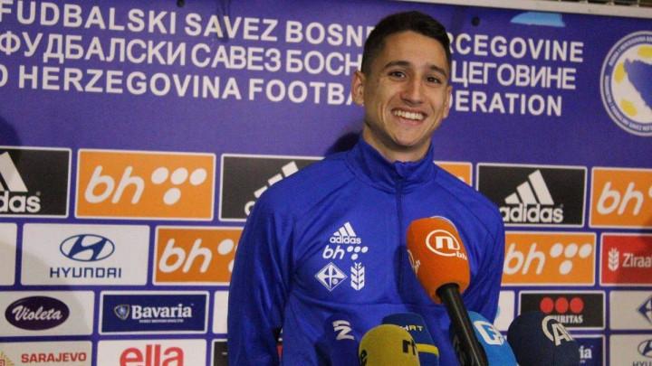 Luka Menalo otpao za mečeve protiv Italije i Lihtenštajna
