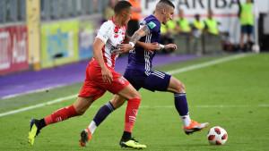 Anderlecht rutinski slavio, Vranješ pocrvenio