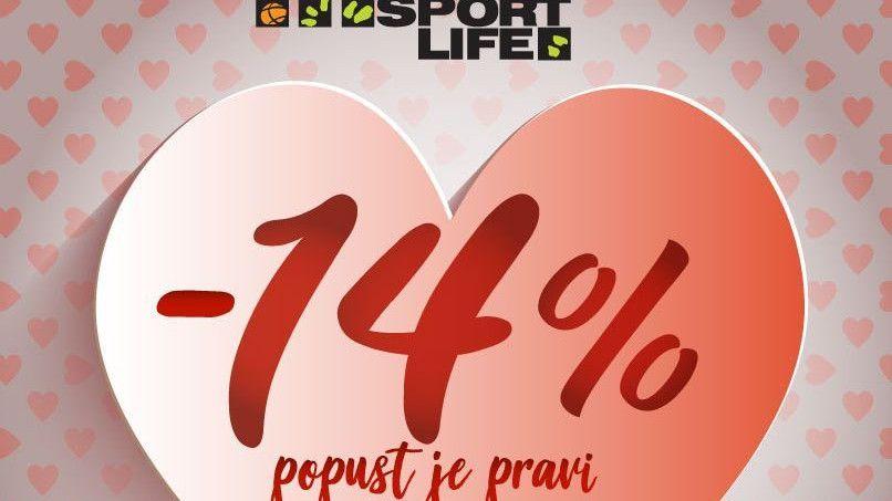 14.02. Sport Life ljubav slavi