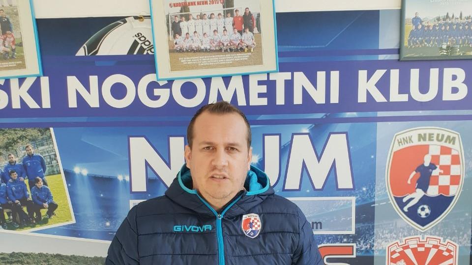 Stipe Ćapeta, HNK Neum: Cilj nam je imati jednu od najboljih nogometnih škola u BiH