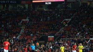 Jako rijetko viđamo ovakvu situaciju na Old Traffordu