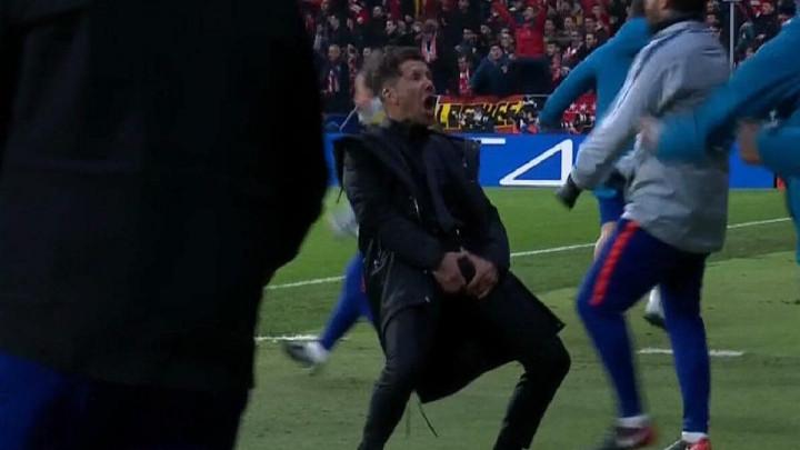 UEFA pokrenula istragu zbog nepristojnog ponašanja Diega Simeonea