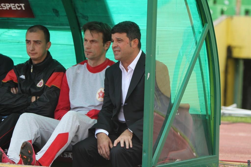 Kanatlarovski is out at Velež; photo: sportsport.ba